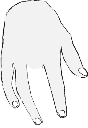 Placeman's hand
